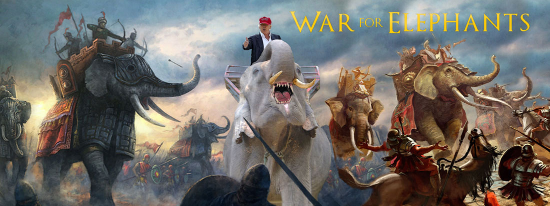 WAR FOR ELEPHANTS